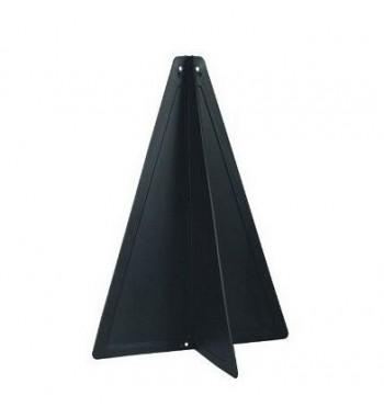 Stożek sygnałowy czarny 33 cm